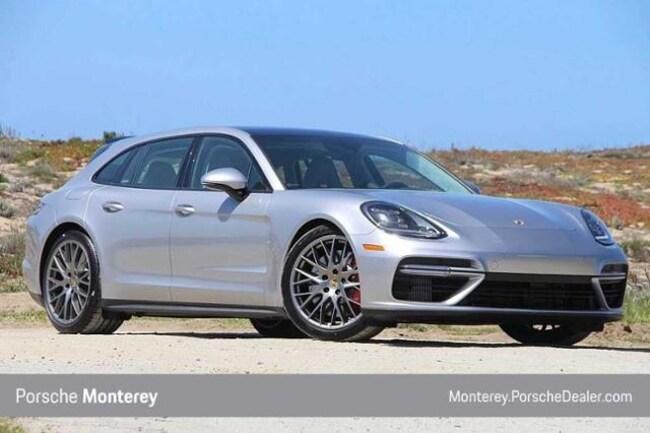 New 2018 Porsche Panamera Sport Turismo Turbo AWD Sport Wagon Monterey, CA