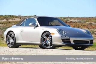 Certified Pre-Owned 2012 Porsche 911 2dr Cabriolet Carrera 4S Cabriolet Monterey, CA