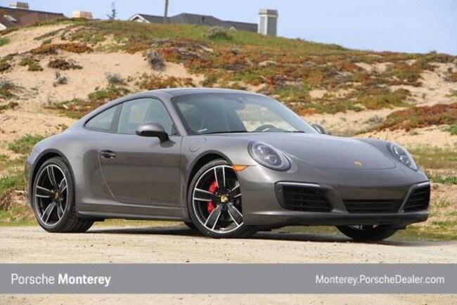 New 2019 Porsche 911 Carrera 4S Coupe Coupe Monterey, CA