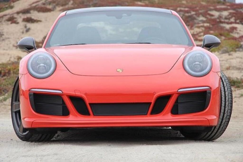 New 2019 Porsche 911 Carrera T Coupe Coupe Lava Orange For Sale in