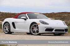 New 2017 Porsche 718 Boxster S Roadster Cabriolet Seaside, CA