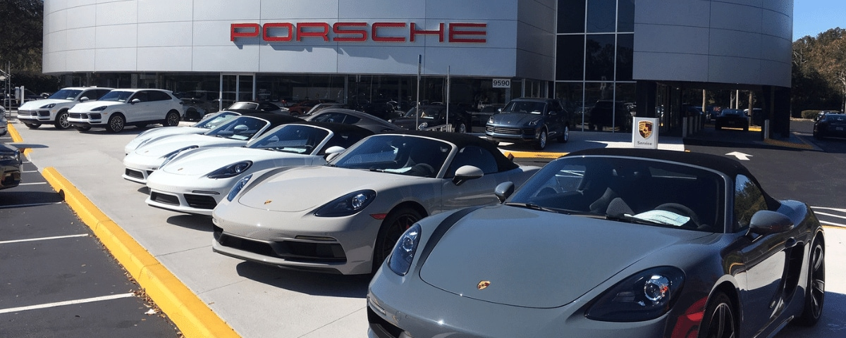 Cars for sale at Porsche Orlando