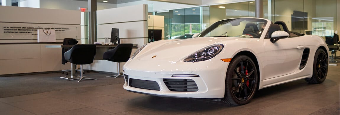 White Porsche 718 For Sale at Porsche Orlando