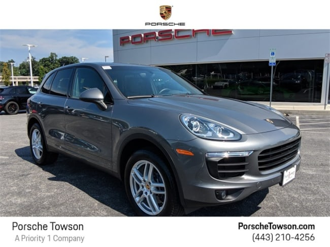 2018 Porsche Cayenne Base SUV