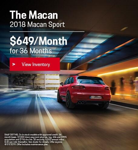 2019 Porsche Macan Sport
