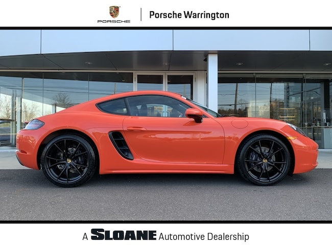2019 Porsche 718 Cayman Base Coupe