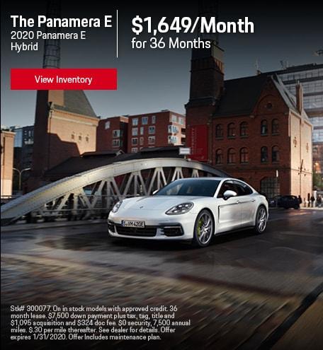 2020 Porsche Panamera E