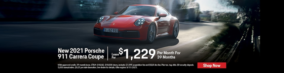 New 2021 Porsche 911 Carrera Coupe