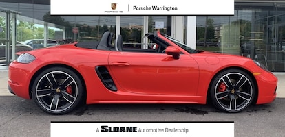 Used 2019 Porsche 718 Boxster For Sale in Warrington PA
