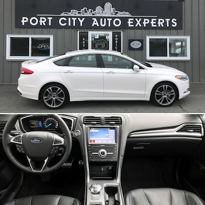 Used 2018 Ford Fusion For Sale at Port City Auto Experts | VIN