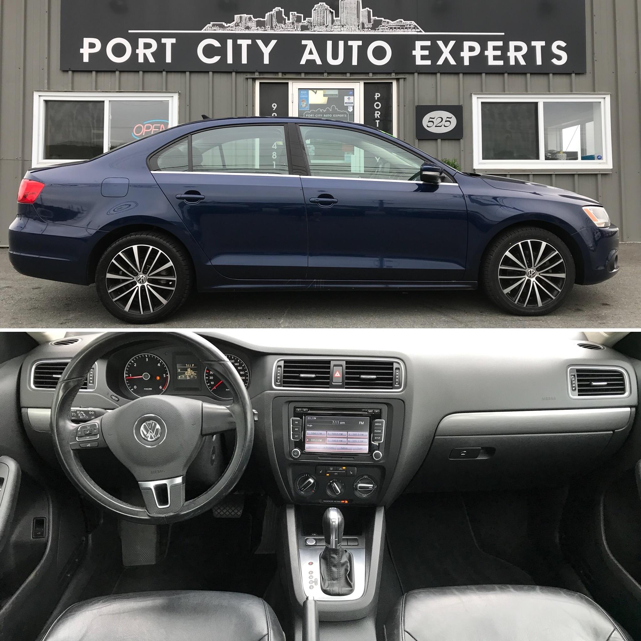 Used 2014 Volkswagen Jetta For Sale At Port City Auto Experts Vin 3vwll7aj5em401260