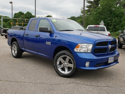 Featured Pre-Owned 2018 Ram 1500 Tradesman Truck Quad Cab for sale near you in Portsmouth, NH