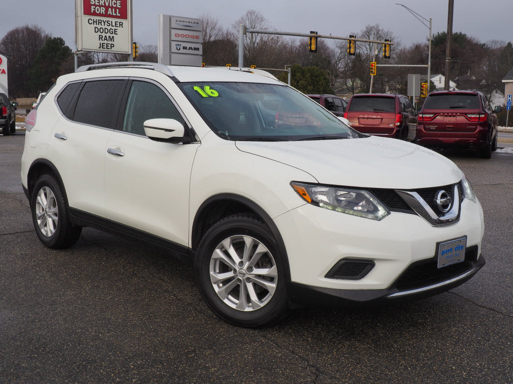 Featured Pre-Owned 2016 Nissan Rogue SV SUV for sale near you in Portsmouth, NH