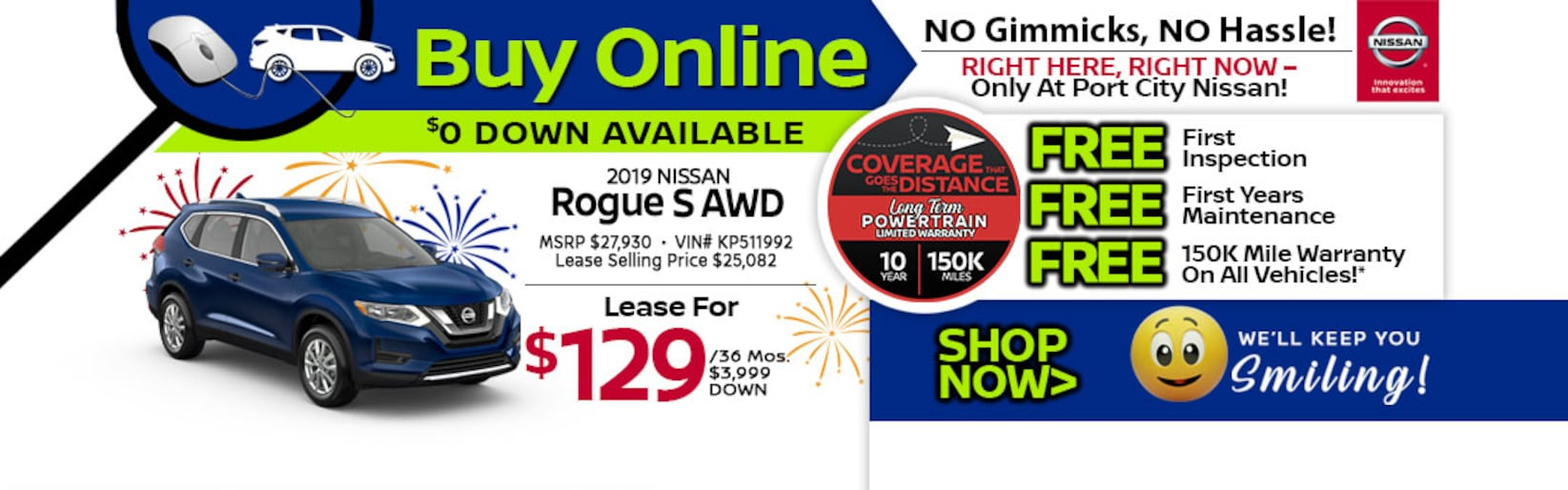 Mid City Nissan >> Nissan Dealership Portsmouth Nh Port City Nissan