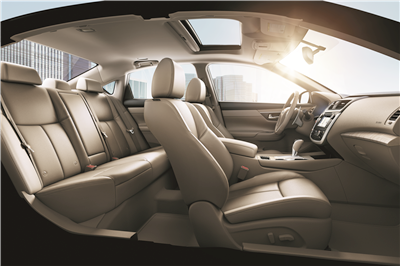 Jump Inside The 2017 Nissan Altima