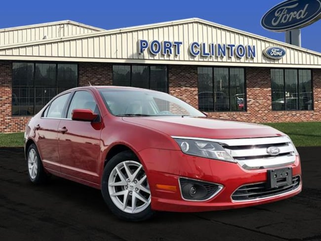 2010 Ford Fusion Sdn SEL FWD Sedan