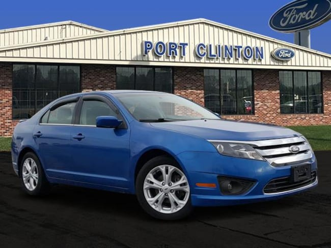 2012 Ford Fusion Sdn SE FWD Sedan
