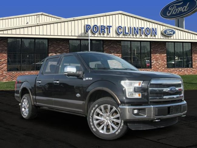 2015 Ford F-150 4WD SuperCrew 145 King Ranch Truck