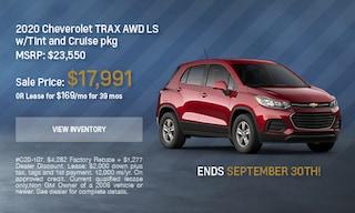 2020 Chevrolet Trax - September