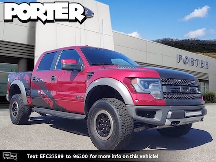 2014 Ford F-150 4WD Supercrew 145 SVT Raptor Truck