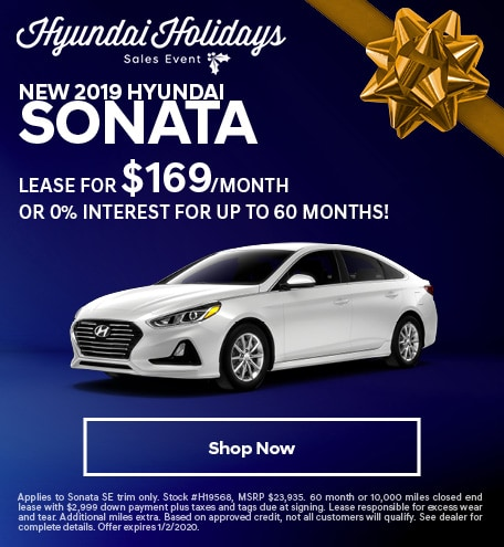 New 2019 Hyundai Sonata - December