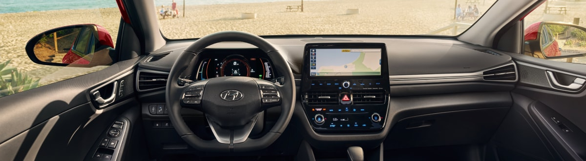 New Hyundai Ioniq Hybrid Interior Dash