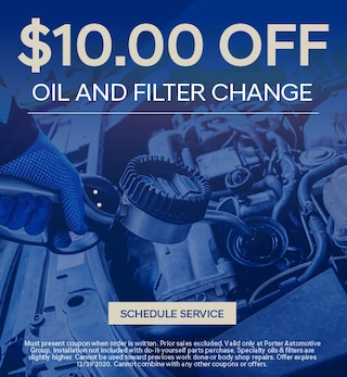 Oil and Filter Change - October