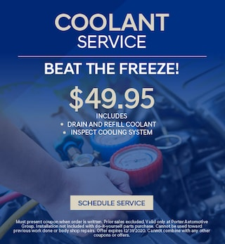 Coolant Service - October