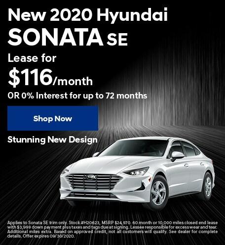 New 2020 Hyundai Sonata - Sept