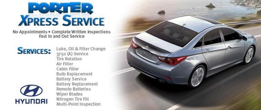Xpress Service Porter Hyundai