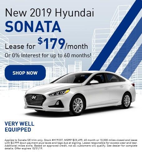 New 2019 Hyundai Sonata - Oct '19