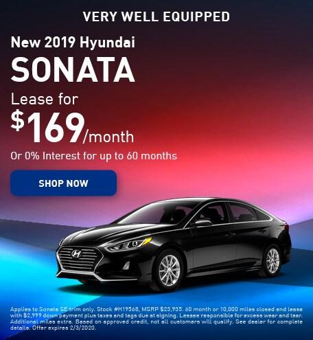 New 2019 Hyundai Sonata - January