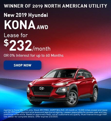 New 2019 Hyundai Kona - January