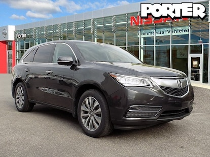 Used 2015 Acura Mdx For Sale At Porter Ford Vin 5fryd4h41fb006629