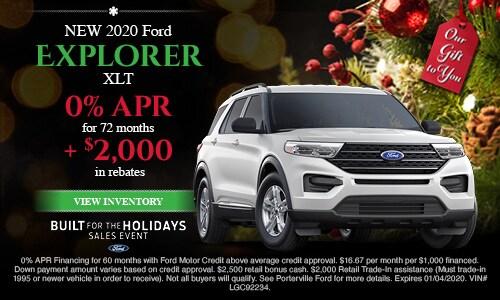 December 2020 Explorer Special