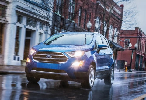 Hit the Road in the Ford EcoSport | Porterville Ford