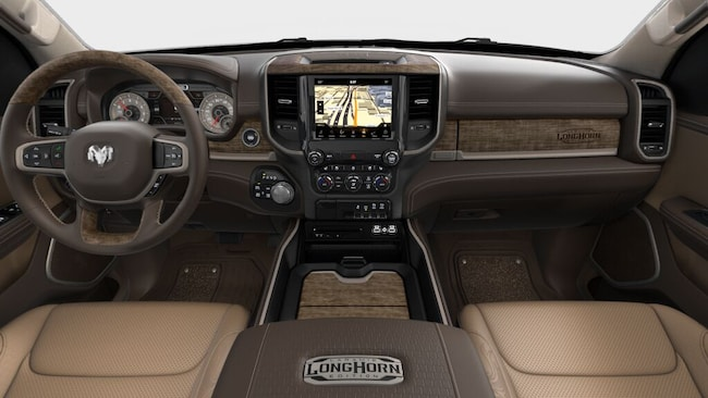 new 2019 ram 1500 laramie longhorn crew cab 4x4 6 39 4 box. Black Bedroom Furniture Sets. Home Design Ideas