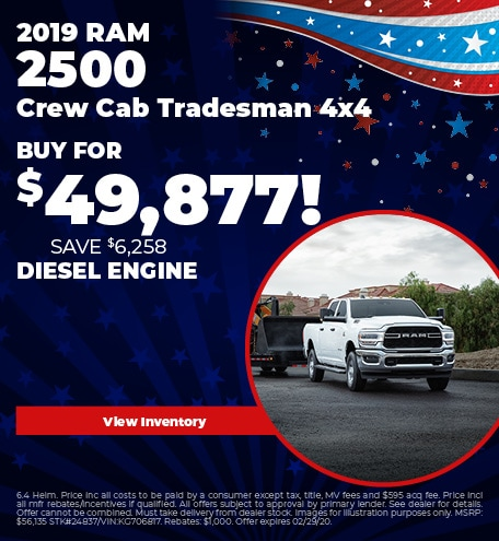 February 2019 RAM 2500 Buy Now