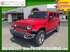 Certified Pre-Owned 2020 Jeep Wrangler Unlimited Sahara SUV For Sale in Port Jervis