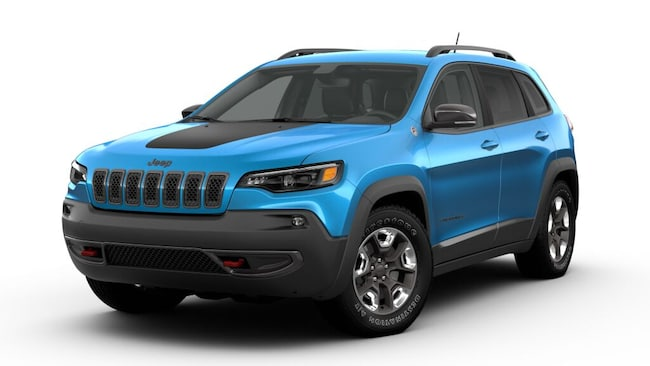 New 2019 Jeep Cherokee TRAILHAWK ELITE 4X4 Sport Utility for sale at Port Jervis Auto Mall in Port Jervis, NY