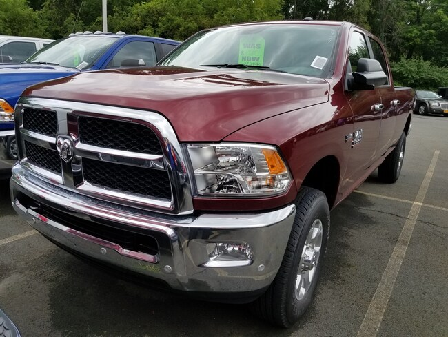 New 2018 Ram 2500 SLT CREW CAB 4X4 8' BOX Crew Cab for sale at Port Jervis Auto Mall in Port Jervis, NY