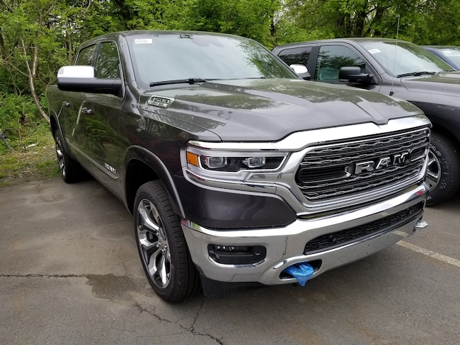 New 2019 Ram 1500 LIMITED CREW CAB 4X4 5'7 BOX Crew Cab for sale at Port Jervis Auto Mall in Port Jervis, NY
