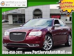 Certified 2018 Chrysler 300 Limited Sedan for sale in Port Jervis, New York at Port Jervis Auto Mall