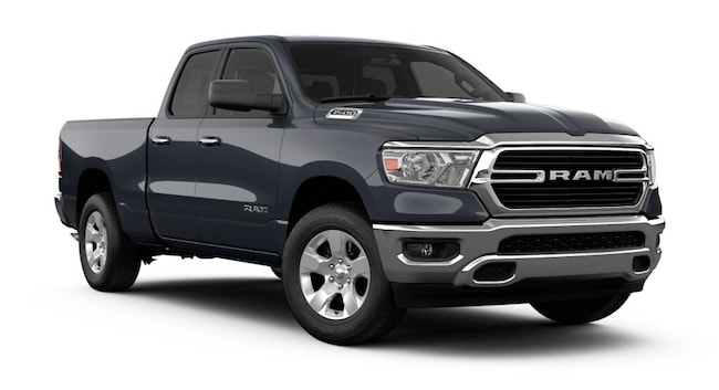 New 2019 Ram 1500 BIG HORN / LONE STAR QUAD CAB 4X4 6'4 BOX Quad Cab for sale at Port Jervis Auto Mall in Port Jervis, NY