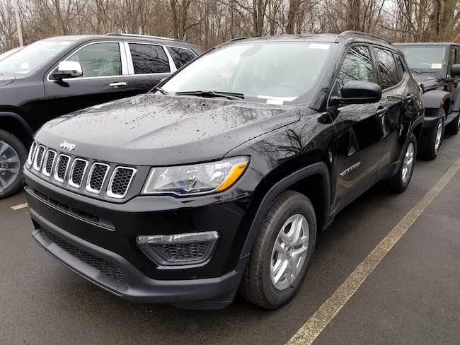 New 2018 Jeep Compass SPORT FWD Sport Utility for sale at Port Jervis Auto Mall in Port Jervis, NY