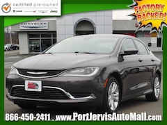 Certified 2015 Chrysler 200 Limited Limited  Sedan for sale in Port Jervis, New York at Port Jervis Auto Mall