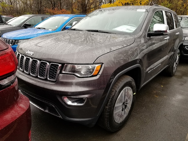 New 2019 Jeep Grand Cherokee LIMITED 4X4 Sport Utility for sale at Port Jervis Auto Mall in Port Jervis, NY