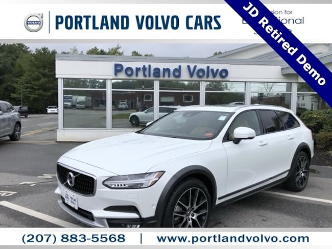 New 2018 Volvo V90 Cross Country T6 AWD Wagon For Sale/Lease Scarborough, ME