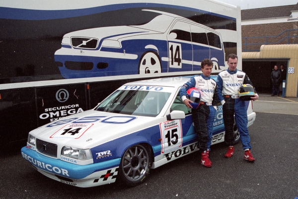 Looking Back At Volvo S Return To Racing In The British Touring Car