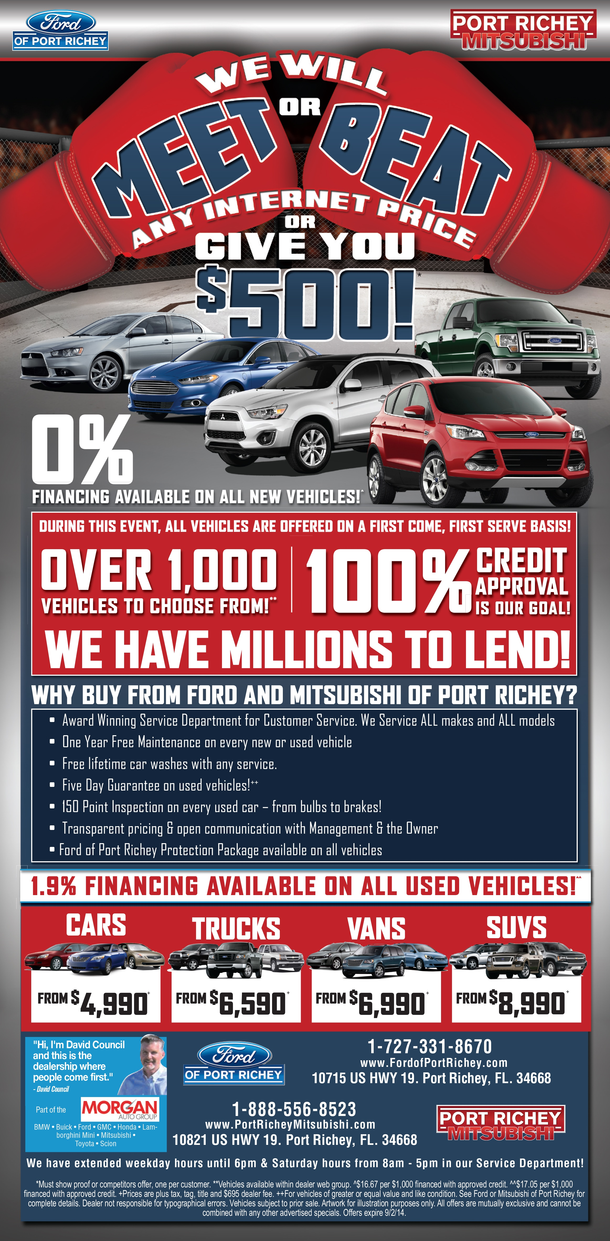 Port Richey Ford Sale